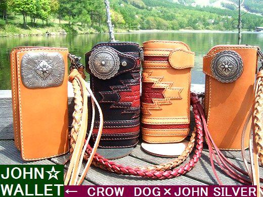 JOHN SILVER×CROW DOG オリジナル